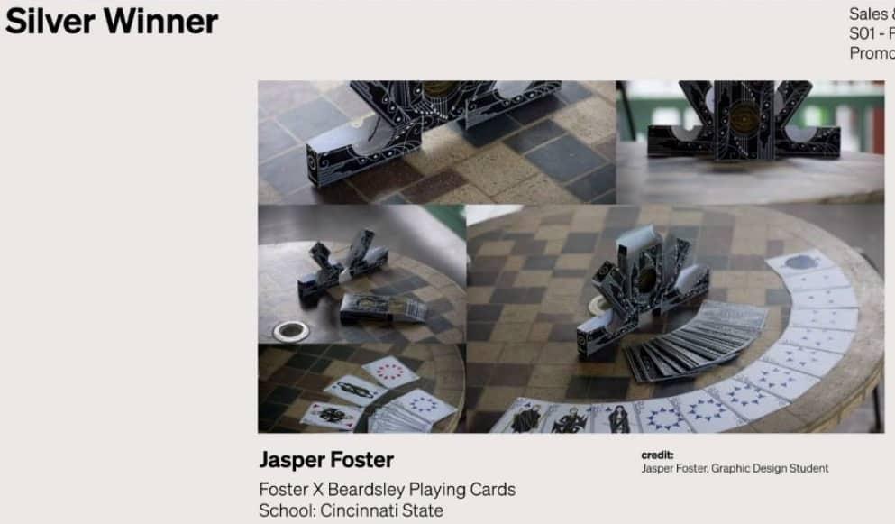 Silver ADDY award 2021 - Jasper Foster