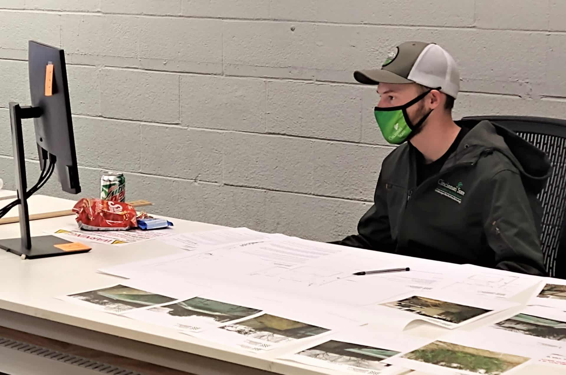 Jack Marschall in National Collegiate Landscape Competition