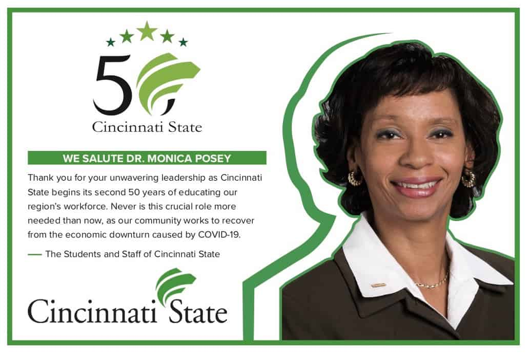 Congratulations to Dr. Posey for selection to Cincinnati 300